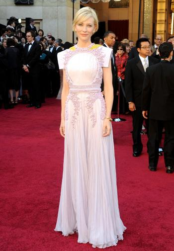 Cate Blanchett in Givenchy at the Oscars.