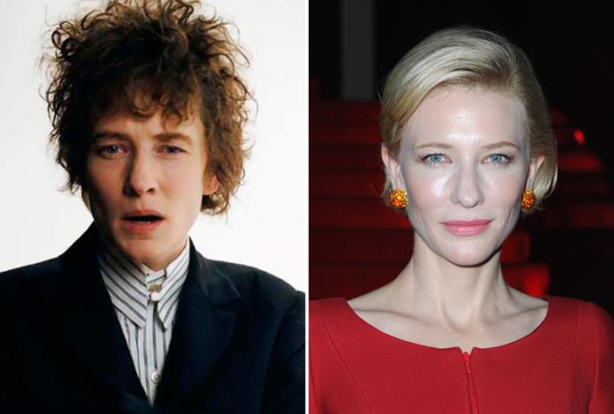 Cate Blanchett became Bob Dylan in *I'm Not There*.