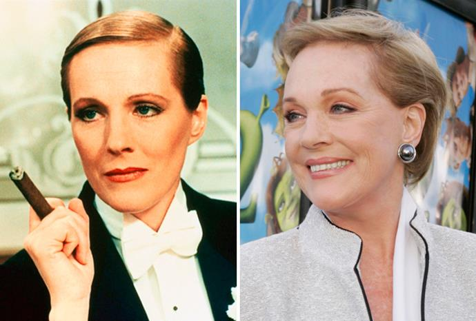 Julie Andrews played a man and a woman in *Victor Victoria*.