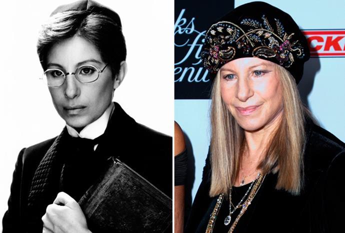 Barbara Streisand won an Oscar for playing a man in *Yentl*.