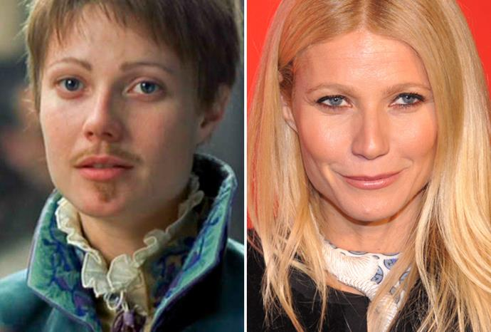 Gwyneth Paltrow also won an Oscar for dressing as a man in *Shakespeare in Love*.