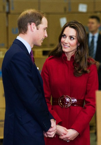 Kate and William couldn't stop staring at each other throughout the visit.