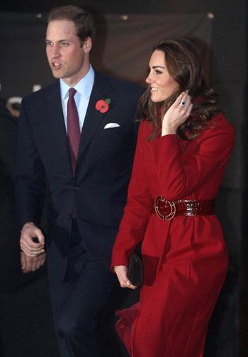 William and Kate made a very handsome couple.