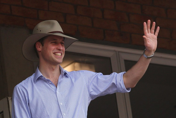 Prince William returned to Australia in March 2011 for his first official royal tour.