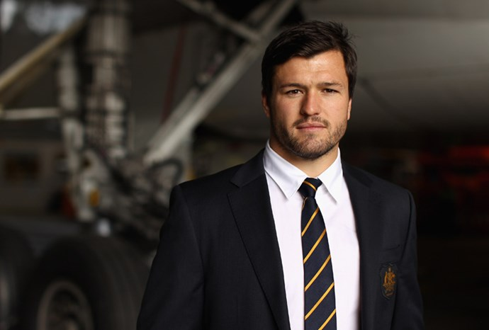 Wallabies fullback Adam Ashley-Cooper.
