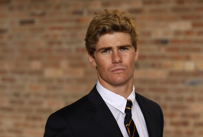 Wallabies centre Berrick Barnes.