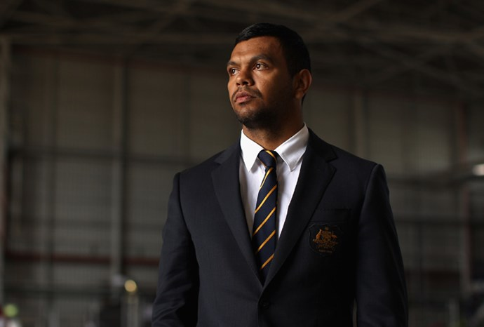 Wallabies fullback Kurtley Beale.