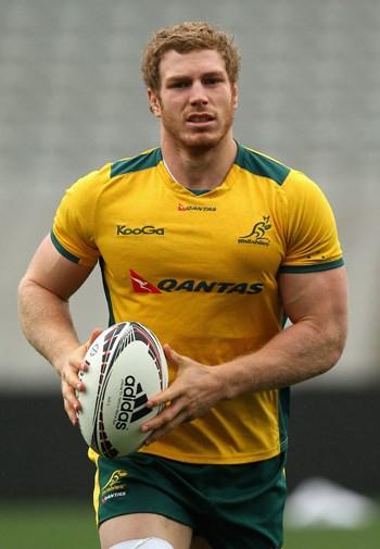 Australian flanker David Pocock.