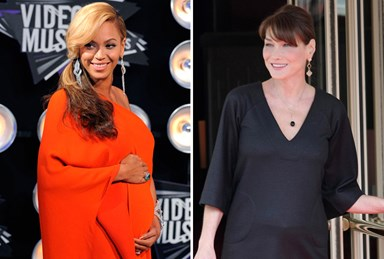 Blooming beauties: Pregnant celebrities