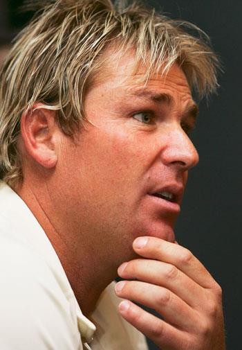 Warnie in 2006.