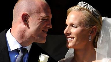 Royal wedding: Zara Phillips marries Mike Tindall