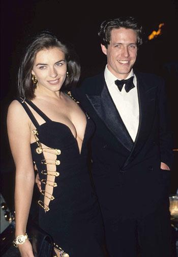 Liz Hurley caused a stir when she stepped out in this safety-pinned frock in 1994.