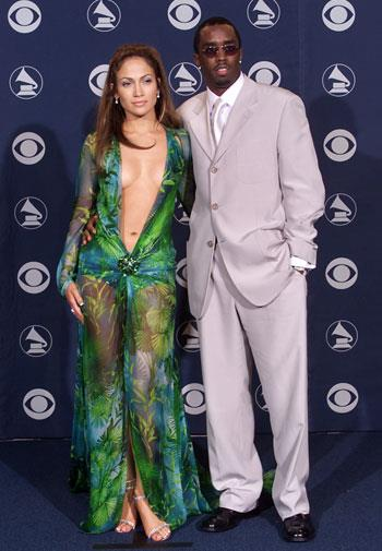 Jennifer Lopez raised more than a few eyebrows at the Grammys in 2000.