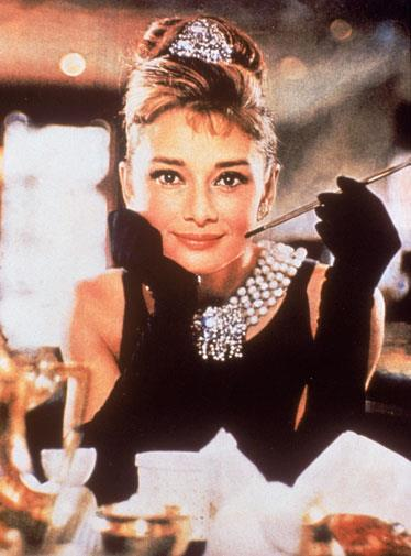 Audrey Hepburn's famous *Breakfast at Tiffany's* gown made her a style icon.