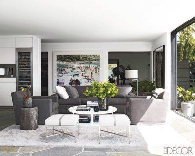 A lavish living area