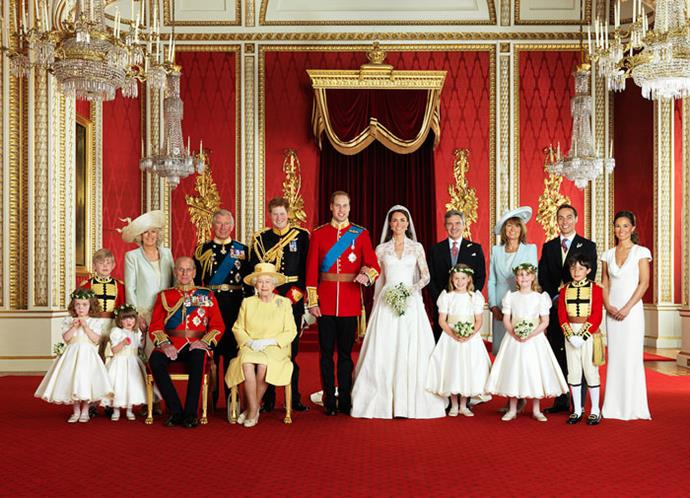 Prince William and Catherine's official wedding pictures