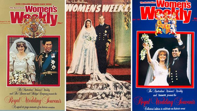 The Weekly's royal wedding covers