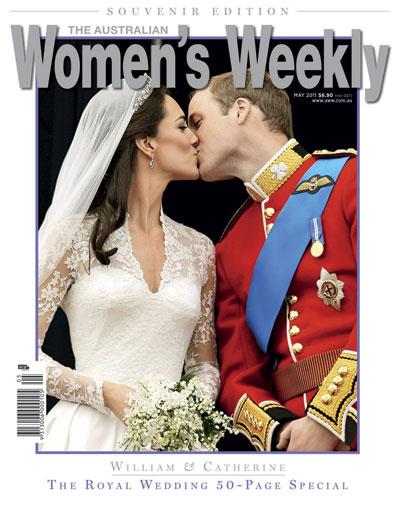 The latest issue: Prince William and Catherine Middleton