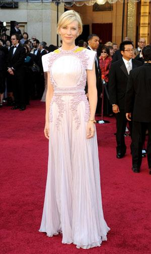 Cate Blanchett attracted praise and criticism in this Givenchy haute couture gown