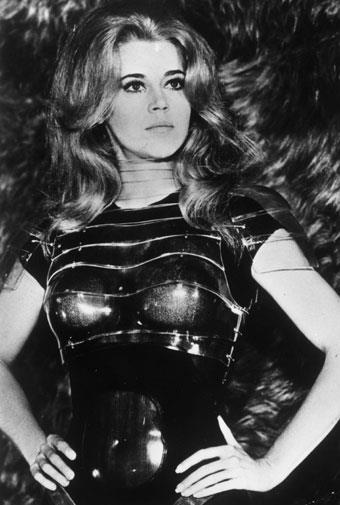 Jane Fonda as *Barbarella* in 1967