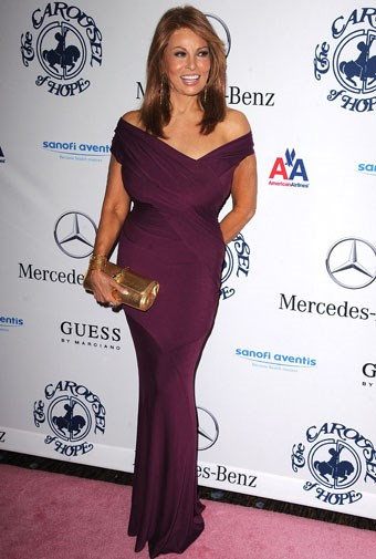 Raquel Welch in October, 2010, aged 70