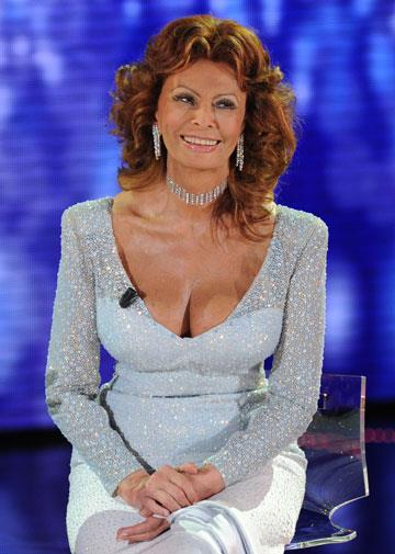 Sophia Loren in September, 2010, aged 76
