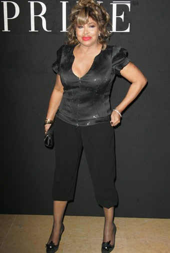 Tina Turner in January, 2010, aged 70
