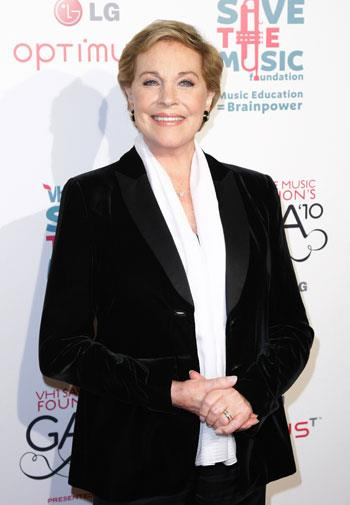 Julie Andrews in November, 2010, aged 75