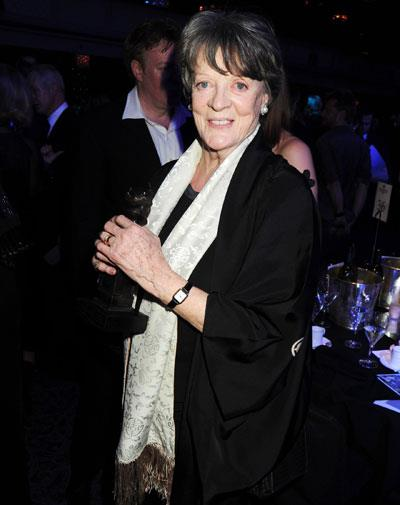Maggie Smith in March, 2010, aged 75