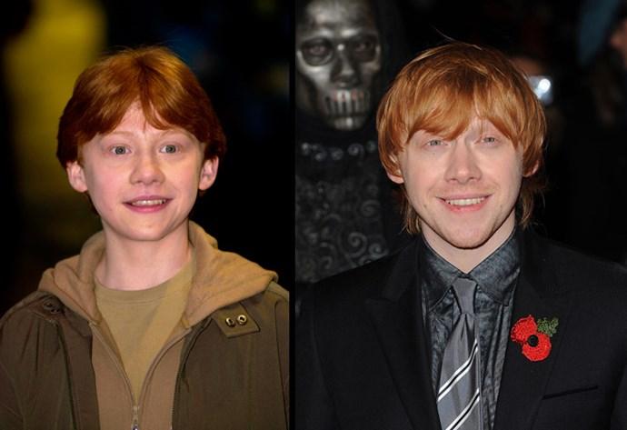 Potter's sidekick Rupert Grint
