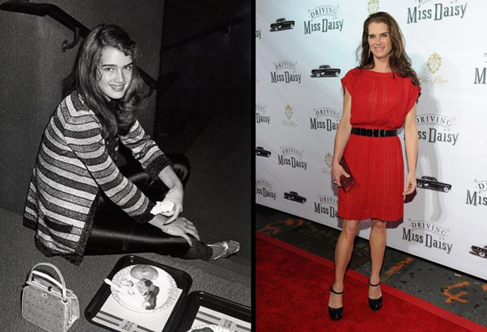 Brooke Shields has been famous since she was 14, now 50 she is content being a mum