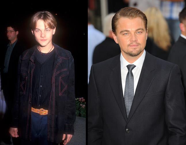 Academy Award nominated Leonardo DiCaprio became a pin up as Romeo