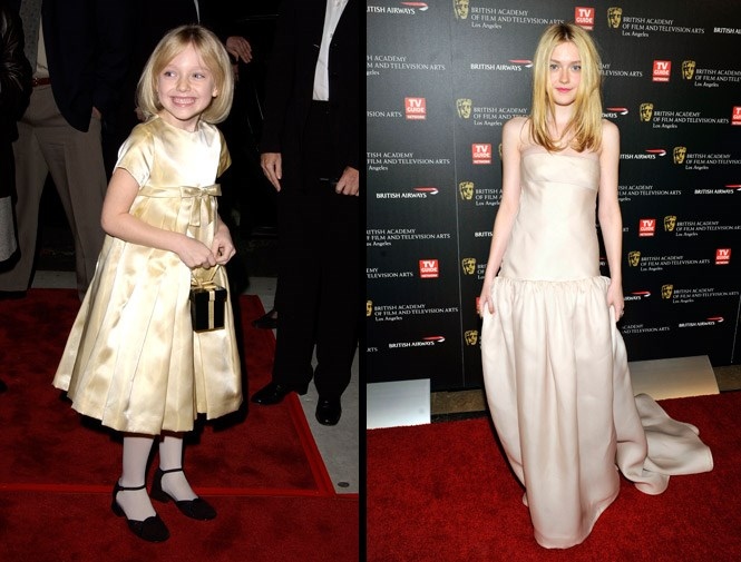 Dakota Fanning's first major movie role in *I Am Sam* at seven, she is now 21