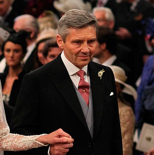 This proud dad had no idea his daughter would become the future queen of England.