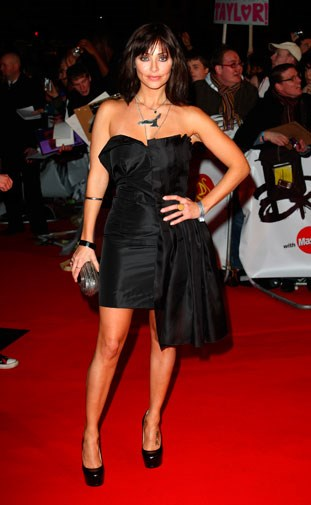 On the red carpet at the 2009 Brit Awards