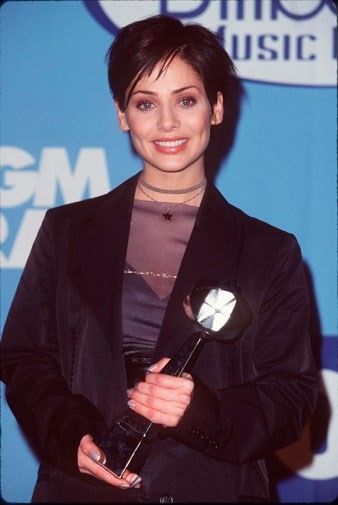 At the Billboard Music Awards in Las Vegas in 1998