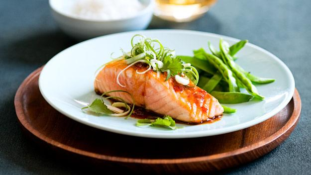 "A fresh, light and tasty dinner that's full of goodness, [salmon with teriyaki chilli sauce](https://www.womensweeklyfood.com.au/recipes/salmon-with-teriyaki-chilli-sauce-8346|target=""_blank"") will become a go-to dinner."