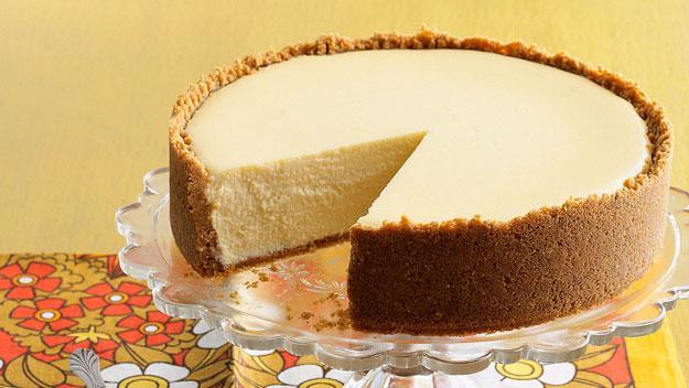 "Cheesecake with sticky rhubarb. Recipe [here](http://www.foodtolove.com.au/recipes/cheesecake-with-sticky-rhubarb-14557 ""_blank"")"