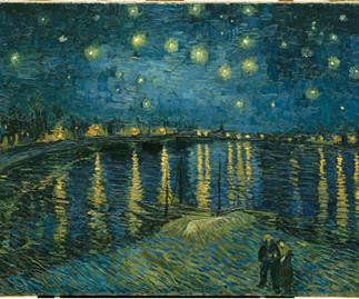 Vincent van Gogh: Starry night, 1888