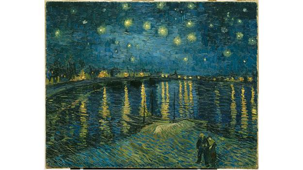 Vincent van Gogh: Starry night, 1888