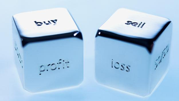 dice, buy, sell, profit, loss, getty images