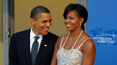 Michelle Obama: In love with a President