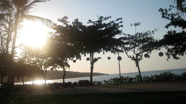 Sunset at the InterContinental Bali Resort