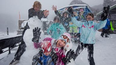 Winter wonderland: Falls Creek's skii resort
