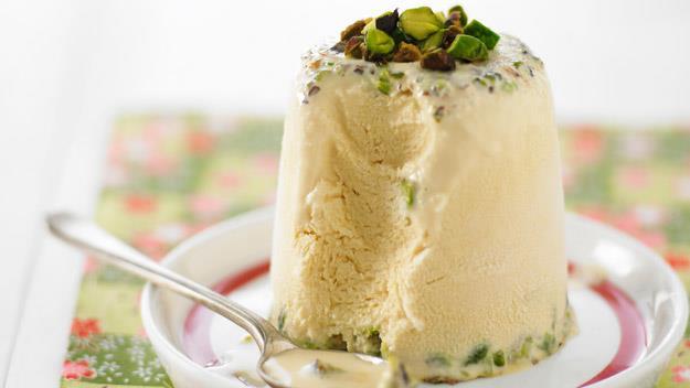 "**[Pistachio, honey and cardamom kulfi](https://www.womensweeklyfood.com.au/recipes/pistachio-honey-and-cardamom-kulfi-12330|target=""_blank"")**"