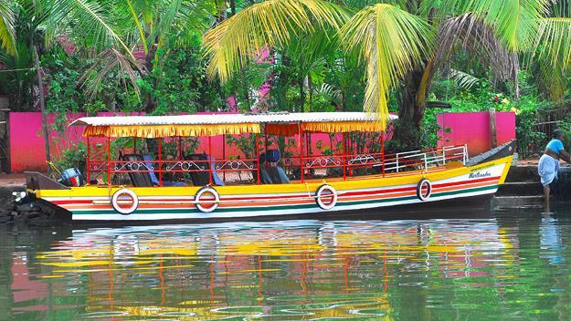 A boat in Kerala