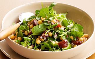 Chickpea and sumac salad