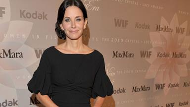 Courteney 'too shy' to try dating again