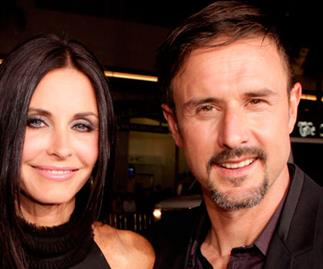 Courteney Cox and David Arquette.