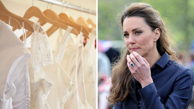 What Kate Middleton will wear to her wedding